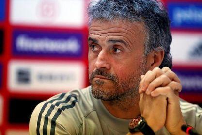 """Luis Enrique vio ante Grecia """"el mejor partido defensivo de su carrera"""""""
