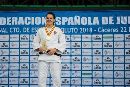 Sara Álvarez, +78 kilos, eliminada en segunda ronda
