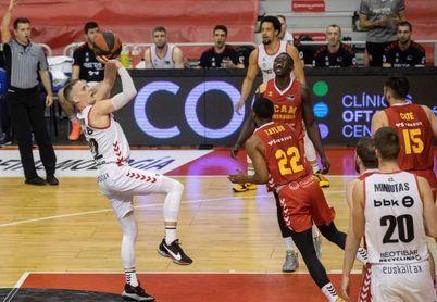 82-90. El Bilbao deja el farolillo rojo al ganar en la prórroga en Murcia