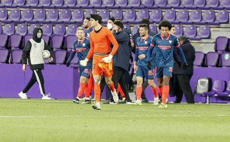 El Sevilla FC cruza los dedos ante los últimos focos de coronavirus en el fútbol español