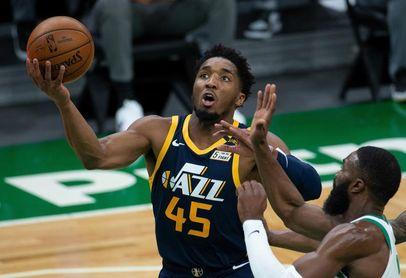 114-75. Mitchell y Gobert lideran exhibición de Jazz ante Cavaliers