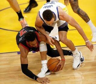 116-102. Curry vuelve en forma y los Warriors ganan con facilidad a los Bulls