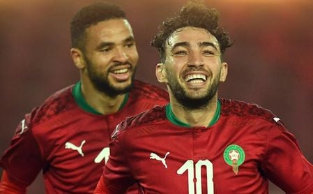 Munir se estrena y da el triunfo a Marruecos.
