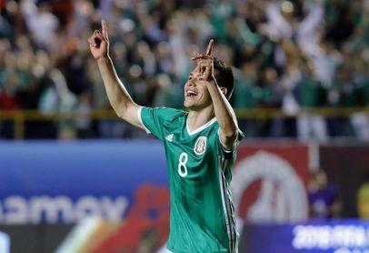 1-0. México vence a Costa Rica con gol de Hirving Lozano