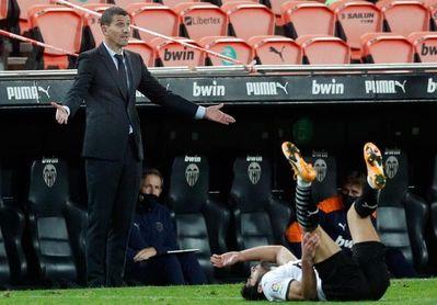 El Valencia vuelve al trabajo con los internacionales y prepara visita al Cádiz
