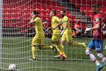 0-3. Una exhibición de Gerard Moreno sitúa quinto al Villarreal