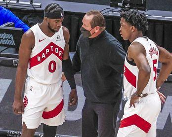 130-77. Siakam y los Raptors humillan a los Warriors