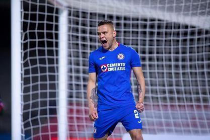 El uruguayo Rodríguez le da al Cruz Azul su undécima victoria consecutiva