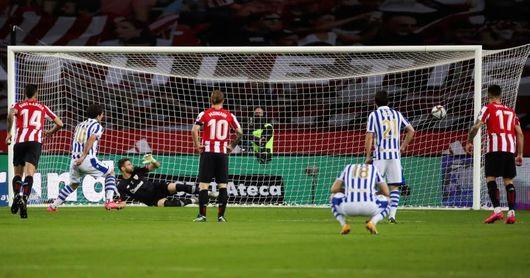 0-1. Oyarzábal da la Copa a la Real 34 años después