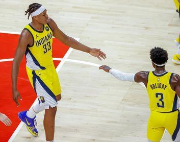 133-139. Caris LeVert comienza a brillar y Pacers vencen a Spurs