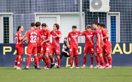 Cádiz B-Sevilla Atlético, en directo: crónica, resultado y minuto a minuto