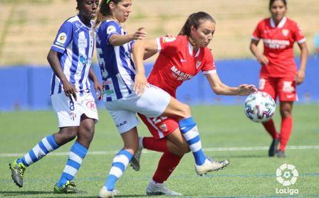 Sporting de Huelva 4-2 Sevilla Femenino: Paga caro una mala primera parte