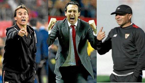 Lopetegui, Emery, Sampaoli y los retos que le quedan al Sevilla FC.