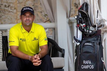 """Golfista puertorriqueño Rafa Campos, a """"un pie"""" de clasificarse a Tokio 2020"""