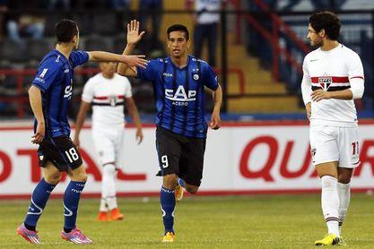 3-0. Huachipato golea a Antofagasta y avanza en la Copa Sudamericana