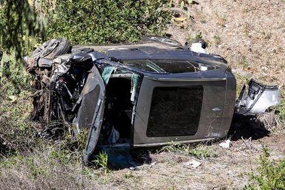 Tiger Woods conducía al doble del límite de velocidad permitido en el accidente