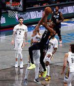 139-111. Ante los Pelicans, Durant estuvo perfecto en su regreso y los Nets vuelven a ser líderes