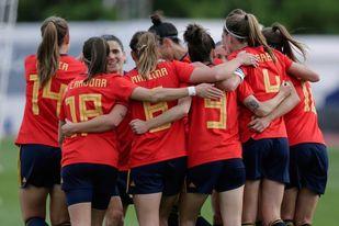 1-0. España se crece ante las campeonas de Europa