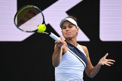 Kudermetova estrena su palmarés