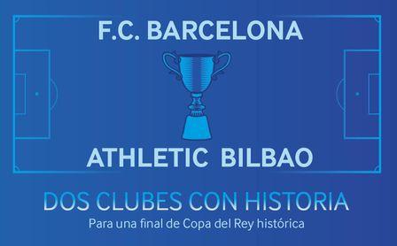 Final de Copa del Rey: dos clubes con historia para una final histórica