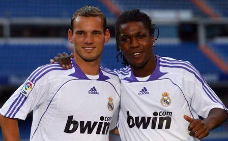 Drenthe desvela los secretos de sus fiestas por Madrid con Guti, Sneijder, Higuaín, Robinho...