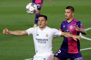 El central Javi Sánchez, tres semanas de baja por una lesión muscular