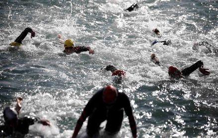 140 triatletas abren en Melilla el calendario de la Copa de Europa