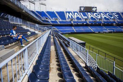 El estadio de La Rosaleda cumple 80 años