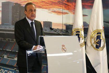 Florentino Pérez proclamado presidente del Real Madrid