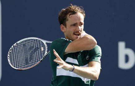 Medvedev, baja por covid-19 en el torneo de Montecarlo