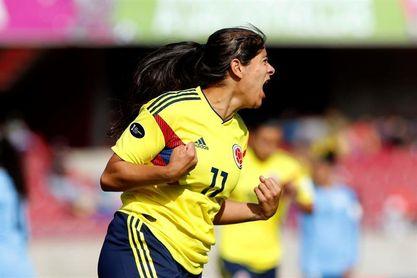 0-4. Catalina Usme marca cuatro en la goleada de Colombia sobre Ecuador