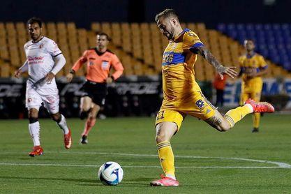 El uruguayo Nicolás López anota dos goles y le da el triunfo a Tigres sobre Juárez