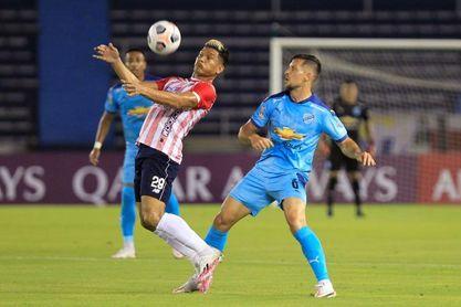 3-0. El Junior se mete a la fase de grupos de la Libertadores, tras golear a un aguerrido Bolívar