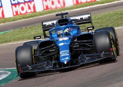 """Fernando Alonso: """"Sentí una mejora en el rendimiento del coche"""""""