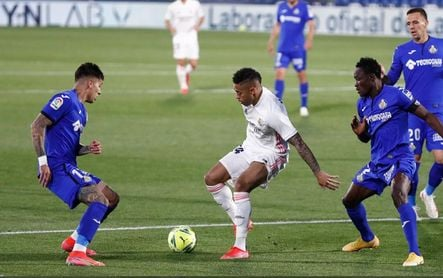 Getafe 0-0 Real Madrid: Courtois y Militao no bastan