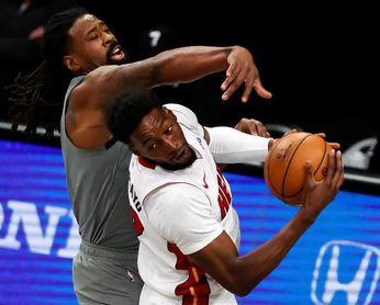 109-107. Bam Adebayo resurge y los Heat vencen a los Nets, que pierden a Durant