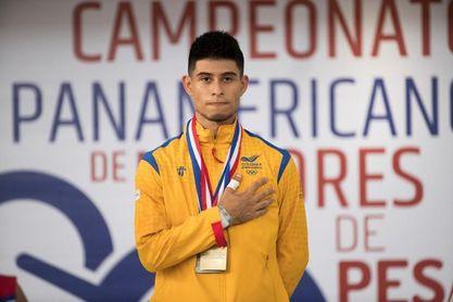 El colombiano Miguel Suárez, récord panamericano en 55 kilos