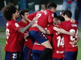 3-1. El Valencia naufraga ante un Osasuna de Primera