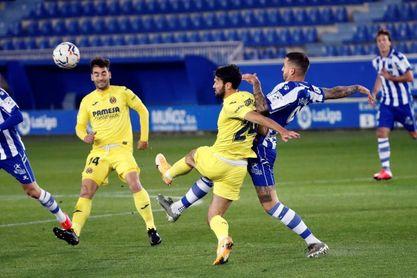 2-1 El Villarreal tropieza con Joselu