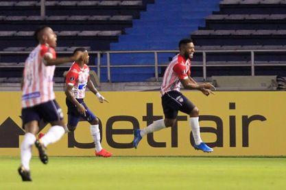 Junior y Santa Fe, el duelo colombiano en el grupo D de la Libertadores