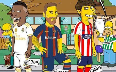 La Superliga de Homer Simpson y el Betis