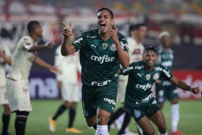 2-3. El campeón Palmeiras gana in extremis con un jugador menos