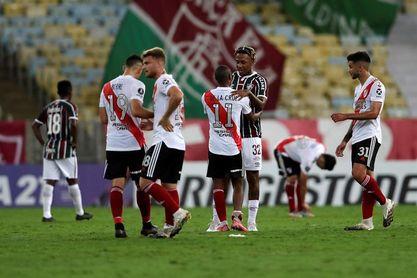 1-1. River Plate firma un pobre empate en el Maracaná