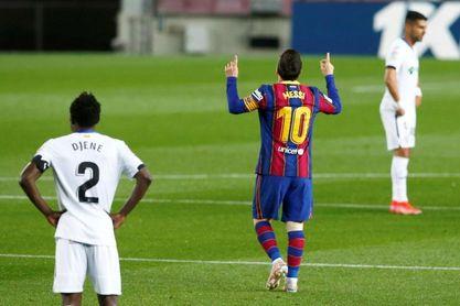 El líder tiene un 'Ángel' y el Barça, a Messi