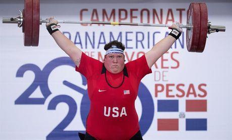 La estadounidense Sarah Robles gana el oro panamericano en +87