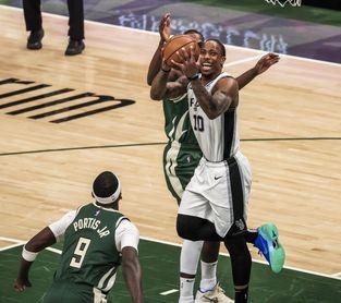 108-110. DeRozan y Spurs aprovechan fallos de Pelicans y se llevan el triunfo