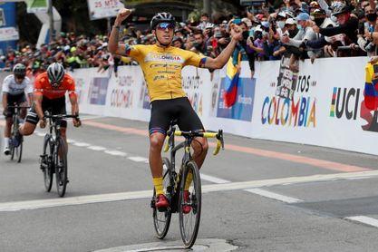 Dos segundos le dan a José Tito Hernández el título de la Vuelta a Colombia