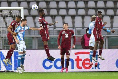 El Nápoles asalta la zona de Liga de Campeones y aumenta la presión sobre el Juventus