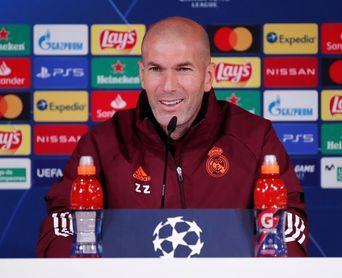 """Zidane no teme represalias: """"Si nos metemos a pensar eso, la liamos"""""""