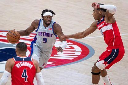 100-86. Grant y Jackson encabezan el triunfo de los Pistons ante unos diezmados Hawks